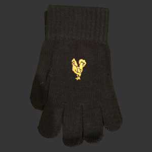 Black Glentoran Gloves