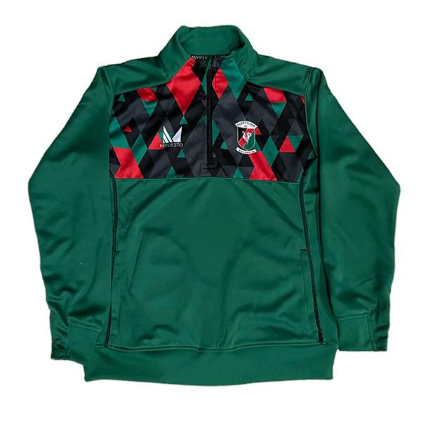 Modesto 1/4 Zip Child Green